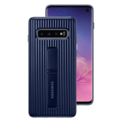 This Official Samsung Protective cover in Dark Blue is the perfect accessory for your Galaxy S10 smartphone.