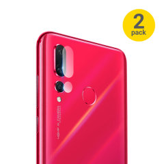 This 2 pack of ultra-thin rear camera protectors for the Huawei Nova 4 from Olixar offers toughness and superb clarity for your photography all in one package.