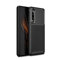 Olixar Carbon Fiber case is een perfecte keuze voor diegenen die zowel het uiterlijk als de bescherming nodig hebben! Een flexibel TPU-materiaal wordt gecombineerd met een opvallende carbonprint om te zorgen dat je Huawei P30 goed wordt beschermd en er in elke situatie goed uitziet.