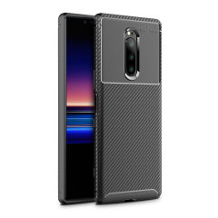 Olixar Carbon Fibre case is a perfect choice for those who need both the looks and protection! A flexible TPU material is paired with an eye-catching carbon print to make sure your  Sony Xperia 1 is well-protected and looks good in any setting.