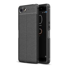 Olixar Attache Sony Xperia XZ4 Compact Leather-Style Case - Black