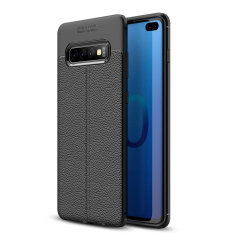 For a touch of premium, minimalist class, look no further than the Attache case for the Samsung Galaxy S10 Plus from Olixar. Lending flexible, durable protection to your device with a smooth, textured leather-style finish.