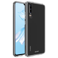 Custom moulded for the Huawei P30, this crystal clear Olixar ExoShield tough case provides a slim fitting, stylish design and reinforced corner protection against shock damage, keeping your device looking great at all times.
