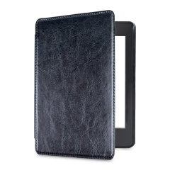 Olixar Leather-style Kindle Paperwhite 4 Case - Black
