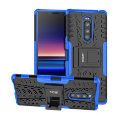 Protect your Sony Xperia 1 from bumps and scrapes with this blue ArmourDillo case. Comprised of an inner TPU case and an outer impact-resistant exoskeleton, the Armourdillo offers sturdy and robust protection.