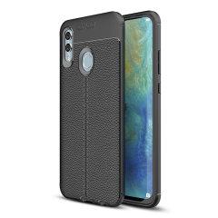 Protección para el Huawei P Smart 2019 gracias a esta funda Olixar Attache, fabricada con un material de alta calidad, muy similar al cuero, por lo que además de protección también ofrece un acabado elegante y premium.