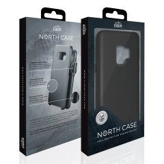 The Eiger North Dual Layer Protective Case in black is a hybrid ergonomic protective case for the Huawei P30 Pro, providing fantastic protection without adding excessive bulk.