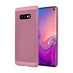 Olixar MeshTex Samsung Galaxy S10e Case - Rose Gold
