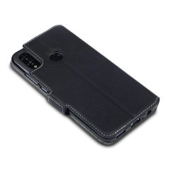 All the benefits of a wallet case but far more streamlined. The Olixar Low Profile in black is the perfect partner for the the Huawei P Smart 2019 owner on the move. What's more, this case transforms into a handy stand to view media.