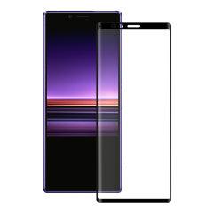 Découvrez le summum de la protection d'écran en verre trempé pour le Sony Xperia XZ4. Le verre trempé Eiger 3D Glass est fabriqué à partir d'un verre de qualité supérieur et est doté d'une bordure arrondie parfaitement ajustée à votre smartphone. Par ailleurs, ce verre trempé est doté d'un revêtement anti-bris de glace.