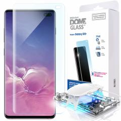 The Whitestone Dome Glass screen protector for Galaxy S10 Plus uses a proprietary UV adhesive installation to ensure a total and perfect fit for your device. Also featuring 9H hardness for absolute protection, as well as 100% touch sensitivity retention.
