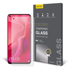 This ultra-thin tempered glass screen protector for the Huawei Nova 4 from Olixar offers toughness, high visibility and sensitivity all in one package.