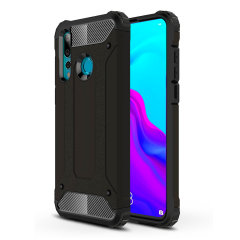 Protect your Huawei Nova 4 from bumps and scrapes with this black Delta Armour case from Olixar. Comprised of an inner TPU section and an outer impact-resistant exoskeleton.