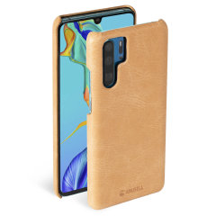 Krusell's Sunne cover in vintage nude combines Nordic chic with Krusell's values of sustainable manufacturing for the socially-aware Huawei P30 Pro owner who wants an elegant genuine leather accessory.