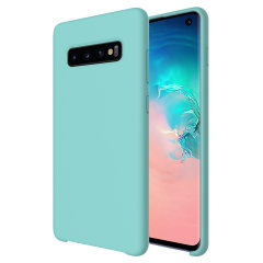Custom moulded for the Samsung Galaxy S10, this pastel green soft silicone case from Olixar provides excellent protection against damage as well as a slimline fit for added convenience.