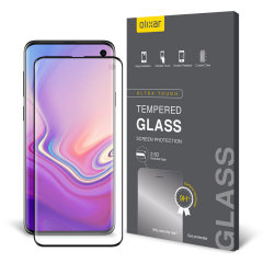 This ultra-thin tempered glass screen protector for the Samsung Galaxy S10e from Olixar offers toughness, high visibility and sensitivity all in one package.