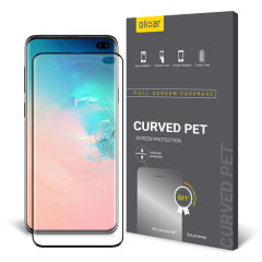 Keep your Samsung Galaxy S10 Plus' screen in pristine condition with this Olixar PET scratch-resistant screen protector.