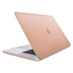 The Olixar ToughGuard Hard Case in champagne gold gives your MacBook Pro 15 with Touch Bar the protection it needs without adding any unnecessary bulk. Compatible with MacBook Pro 15 inch A1990 and A1707, versions 2016 to 2018.