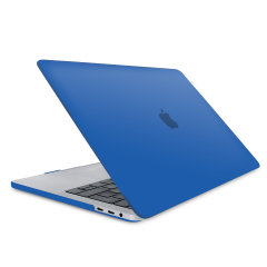"The Olixar ToughGuard Hard Case in blue gives your MacBook Pro Retina 13 inch the protection it needs without adding any unnecessary bulk. Compatible with the MacBook Pro 13"" with Retina Display A1708, versions 2016 to 2018."
