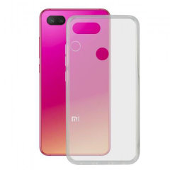 This official Transparent KSIX TPU cover is made to protect your Xiaomi MI 8 Lite, the anti-slip texture improves the grip on your smartphone giving you that extra protection.