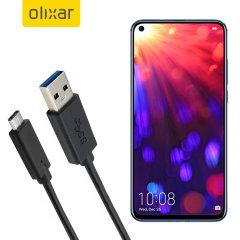 Zorg ervoor dat uw Honor View 20 altijd volledig is opgeladen en gesynchroniseerd met deze compatibele USB 3.1 Type-C Male naar USB 3.0 mannelijke kabel. U kunt deze kabel gebruiken met een USB-wandlader of via uw desktop of laptop.