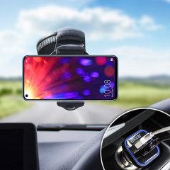 Houd je telefoon veilig in je auto met deze volledig verstelbare DriveTime-autohouder voor je Honor View 20.