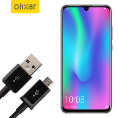 This 1 meter data / charging cable from Olixar allows you to connect your Huawei Honor 10 Lite to a PC via Micro USB. It supports charging currents over 2 amps, so your Huawei Honor 10 Lite can be up and running from flat in no time.