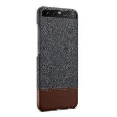 This official case from Huawei with dark grey fabric and brown leather-style materials provides all-around protection for your Huawei P10, while still keeping it slim, classic and elegant.
