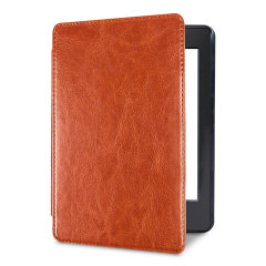 Olixar Leather-style Kindle Paperwhite 4 Case - Brown