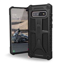 The Urban Armour Gear Monarch in black for the Samsung Galaxy S10 Plus is quite possibly the king of protective cases. With 5 layers of premium protection and the finest materials, your Galaxy S10 Plus is safe, secure and in some style too.