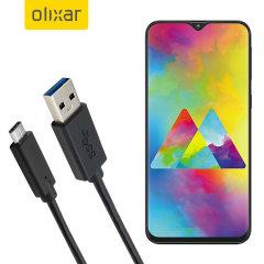 Zorg ervoor dat uw Samsung Galaxy M20 altijd volledig is opgeladen en gesynchroniseerd met deze compatibele USB 3.1 Type-C Male naar USB 3.0 mannelijke kabel. U kunt deze kabel gebruiken met een USB-wandlader of via uw desktop of laptop.