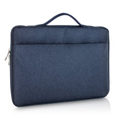 The Olixar laptop bag in blue for for your laptop is a slim, form-fitting and extremely durable cover. Featuring a comfortable handle and a handy storage pocket