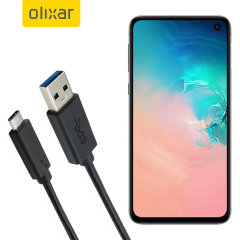 Zorg ervoor dat uw Samsung Galaxy S10E altijd volledig is opgeladen en gesynchroniseerd met deze compatibele USB 3.1 Type-C Male naar USB 3.0 mannelijke kabel. U kunt deze kabel gebruiken met een USB-wandlader of via uw desktop of laptop.