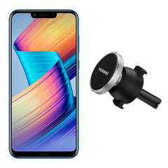 Mount your Honor Play easily on your car's vents via the power of magnets with the Official Huawei Magnetic Air Vent Mount. This magnetic car mount even works with many cases, allowing you to keep your phone protected while you drive.