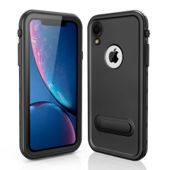 All round rugged protection for your iPhone XR with the Terra 360 protective case from Olixar. Featuring a dual layer shock resistant design and a built in screen protector, to prevent damage from water, dust, dirt and snow.