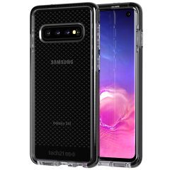 Tech21 Evo Check case for Samsung Galaxy S10 features three layers of ultimate protection against scratches, bumps and drops. Despite being ultra-thin and lightweight, the case protects your device from drops of up to 12ft (3.66m)!