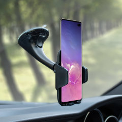 Dock your Galaxy S10 Plus safely in the car with this Genuine Samsung Universal Vehicle Dock and Windscreen Mount, ideal for when you use your S10 Plus as a Sat Nav.