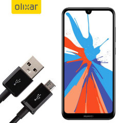This 1 meter data / charging cable from Olixar allows you to connect your Huawei Y7 Prime 2019 to a PC via Micro USB. It supports charging currents over 2 amps, so your Huawei Y7 Prime 2019 can be up and running from flat in no time.