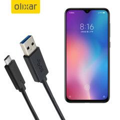 Zorg ervoor dat uw Xiaomi Mi 9 SE altijd volledig is opgeladen en gesynchroniseerd met deze compatibele USB 3.1 Type-C Male naar USB 3.0 mannelijke kabel. U kunt deze kabel gebruiken met een USB-wandlader of via uw desktop of laptop.