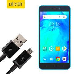 Olixar USB-C Xiaomi Redmi Go Charging Cable - Black 1m