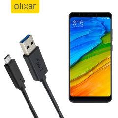 Zorg ervoor dat uw Xiaomi Mi A2 altijd volledig is opgeladen en gesynchroniseerd met deze compatibele USB 3.1 Type-C Male naar USB 3.0 mannelijke kabel. U kunt deze kabel gebruiken met een USB-wandlader of via uw desktop of laptop.