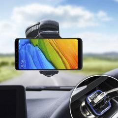 Houd je telefoon veilig in je auto met deze volledig verstelbare DriveTime-autohouder voor je Xiaomi Mi A2.