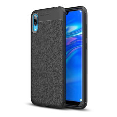 Olixar Attache Huawei Y7 Pro Leather-Style Case - Black