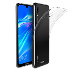 Olixar Ultra-Thin Huawei Y7 Pro Case - 100% Clear