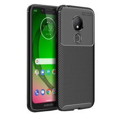 Olixar Carbon Fibre case is a perfect choice for those who need both the looks and protection! A flexible TPU material is paired with an eye-catching carbon print to make sure your Motor G7 Play is well-protected and looks good in any setting.