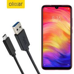 Zorg ervoor dat uw Xiaomi Redmi Note 7 Pro altijd volledig is opgeladen en gesynchroniseerd met deze compatibele USB 3.1 Type-C Male naar USB 3.0 mannelijke kabel. U kunt deze kabel gebruiken met een USB-wandlader of via uw desktop of laptop.