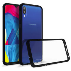 Custom moulded for the Samsung Galaxy M10. This black Olixar ExoShield tough case provides a slim fitting stylish design and reinforced corner shock protection against damage, keeping your device looking great at all times.