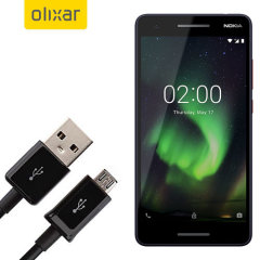 This 1 meter data / charging cable from Olixar allows you to connect your Nokia 2 V to a PC via Micro USB. It supports charging currents over 2 amps, so your Nokia 2 V can be up and running from flat in no time.