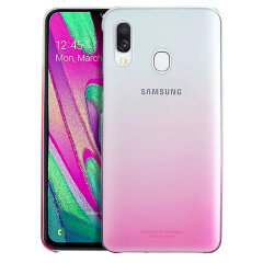 Protect your Samsung Galaxy A40 with this Official Gradation case in Pink. Stylish and protective, this case is the perfect accessory for your Galaxy A40.