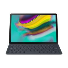 Keep your brand new Samsung Galaxy Tab S5e fully protected with this official QWERTZ keyboard cover case from Samsung. With its tactile keys and seamless connectivity, the integrated keyboard and optimised viewing angle.